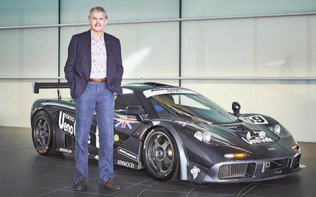 Professor Gordon Murray CBE Personal Car Collection Tour - date TBC June/July 2021