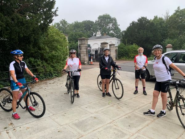 TVF Bike Ride - 46 miles on 22 August 2021