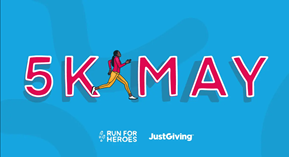 5K MAY  run, walk, cycle, swim - donate £5 and nominate 5 others